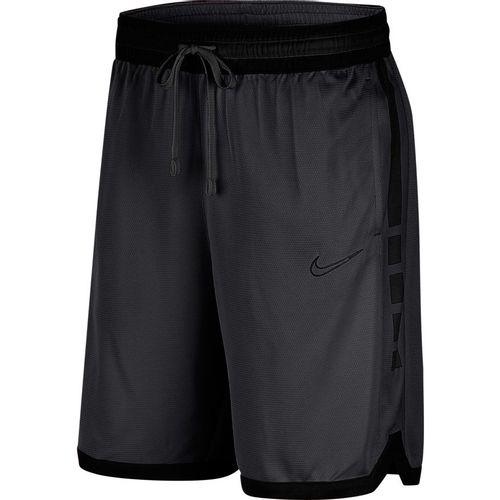 Men's Nike Dri-FIT Elite Basketball Short (Smoke/Black)