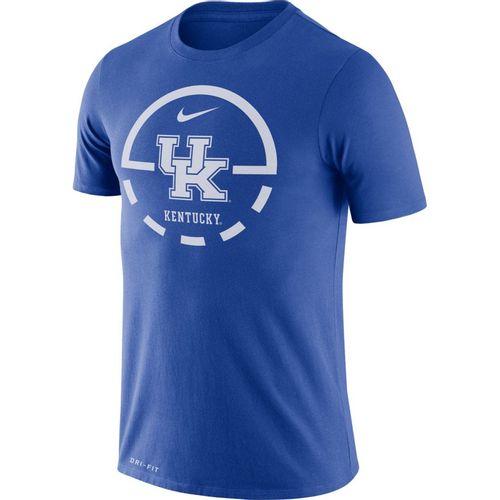 Men's Nike Kentucky Wildcats Dri-FIT Legend 2.0 Top Of Key T-Shirt (Royal)