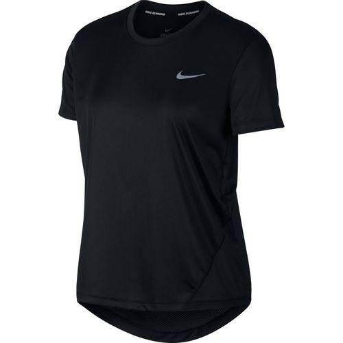 Women's Nike Miler T-Shirt (Black/Silver)