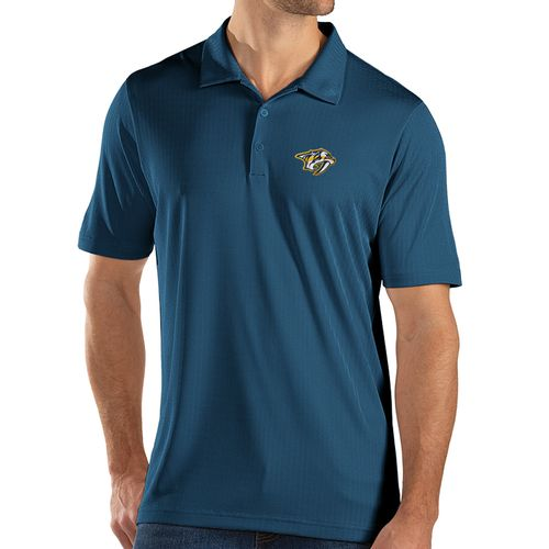 Men's Antigua Nashville Predators Primary Bevel Polo (Navy)