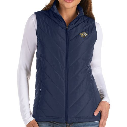 Women's Antigua Nashville Predators Atlantic Vest (Navy)