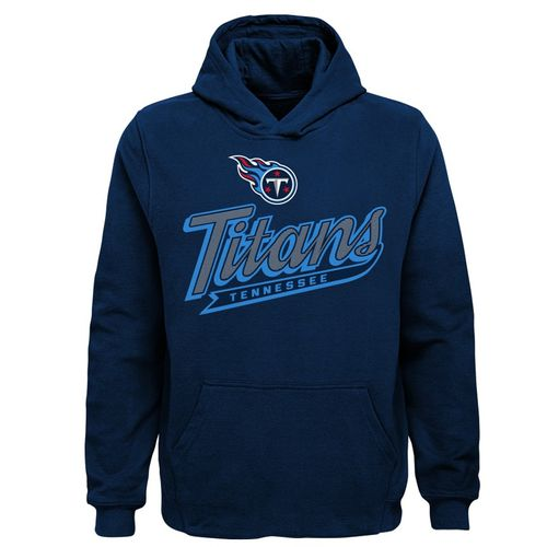 Kid's Tennessee Titans Pioneer Hooded Fleece (Navy)