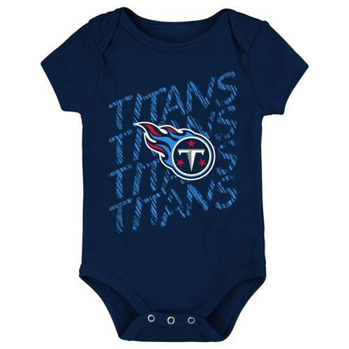 Newborn Tennessee Titans Fan Onesie (Navy)
