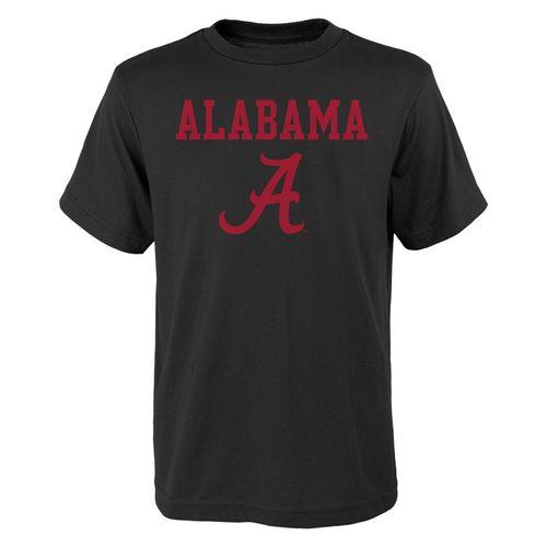 Youth Alabama Crimson Tide Goal Line T-Shirt (Black)