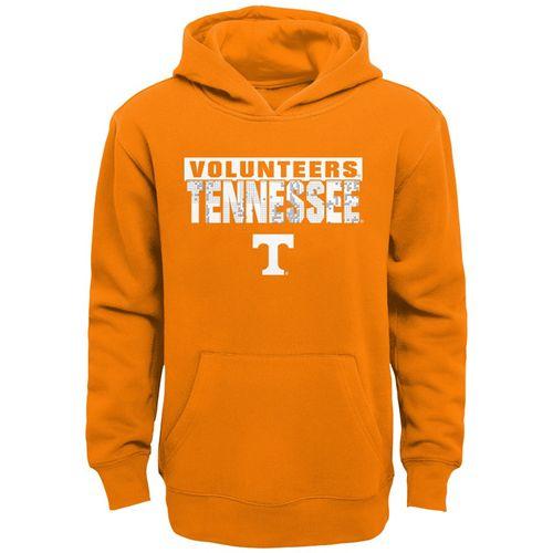 Youth Tennessee Volunteers Barcode Hooded Fleece (Orange)