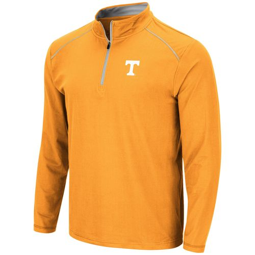 Men's Tennessee Volunteers 1/4 Zip Up Wind Shirt (Orange)