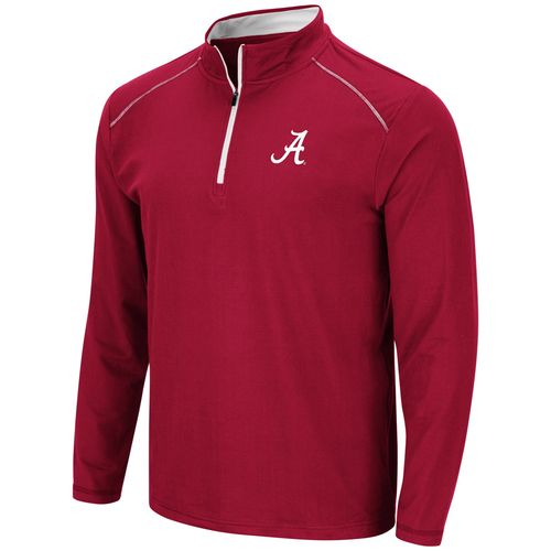 Men's Alabama Crimson Tide 1/4 Zip Up Wind Shirt (Crimson)