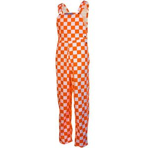 Adult Bibbed Overalls (Checkerboard)