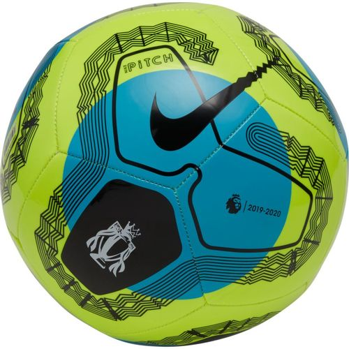 Nike Premier League Pitch Soccer Ball (Volt/Blue)