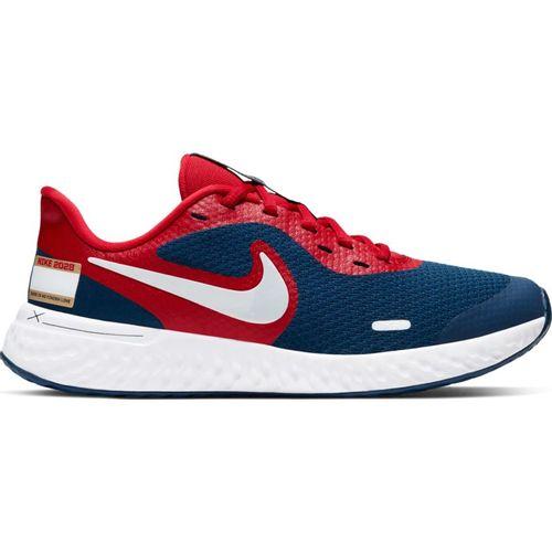 Grade School Nike Revolution 5 (White/Multi)