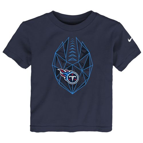 Toddler Tennessee Titans Football Icon T-Shirt (Navy)