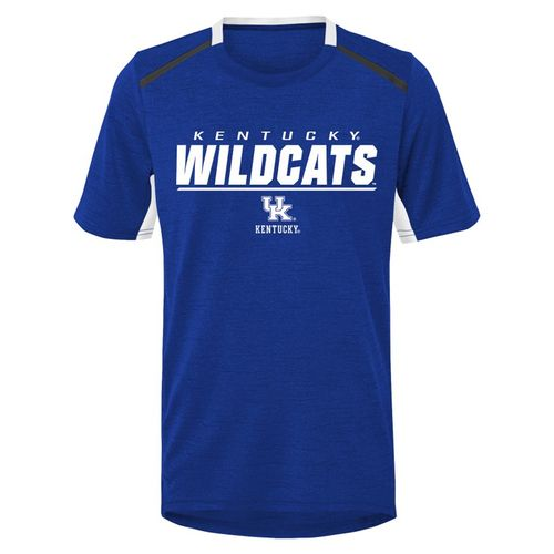 Kid's Kentucky Wildcats Static Perform T-Shirt (Royal)