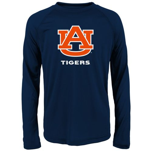 Youth Auburn Tigers Primary Long Sleeve Shirt (Navy)