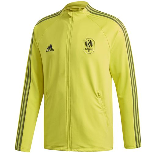 Men's Adidas Nashville Soccer Club Anthem Jacket (Yellow)