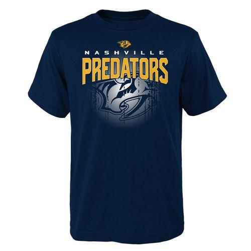 Youth Nashville Predators Evolution T-Shirt (Navy)