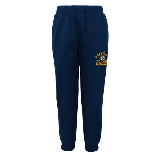 Youth Nashville Predators Pro Game Fleece Pant (Navy)