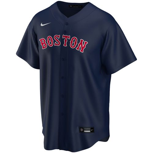 Men's Nike Boston Red Sox Alternate Replica Jersey (Navy)