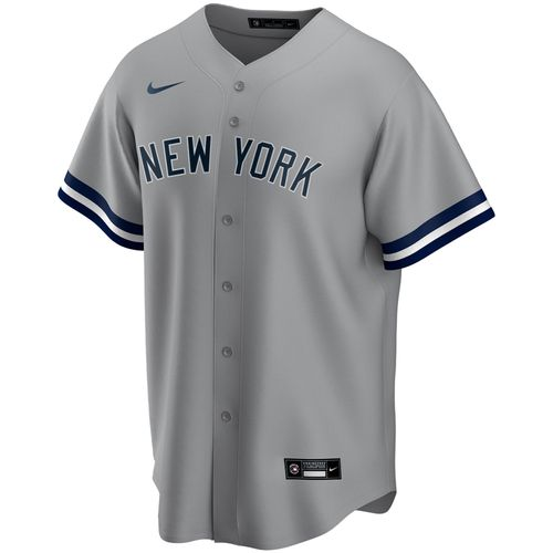 Men's Nike New York Yankees Road Replica Jersey (Grey)
