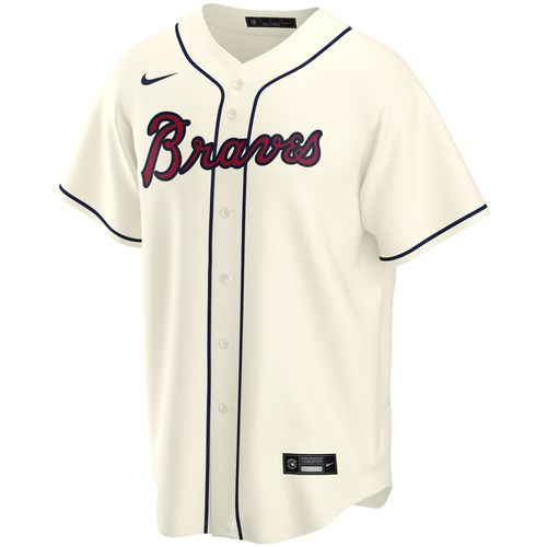 Men's Nike Atlanta Braves Alternate Replica Jersey (Cream)