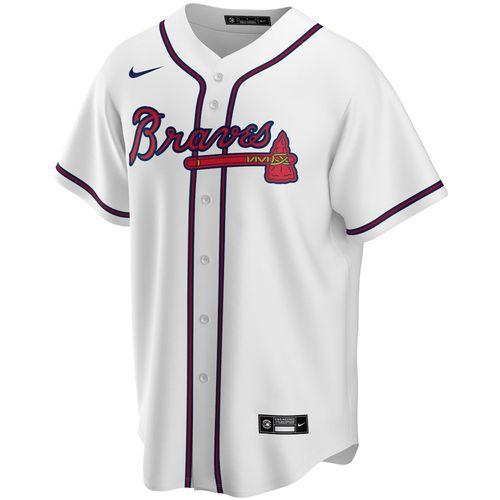 Men's Nike Atlanta Braves Home Replica Jersey (White)