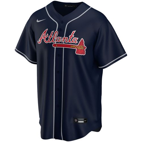 Men's Nike Atlanta Braves Alternate Replica Jersey (Navy)