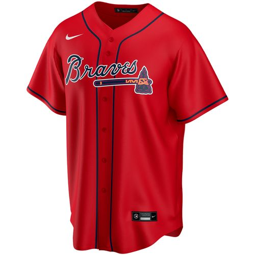 Men's Nike Atlanta Braves Alternate Replica Jersey (Red)
