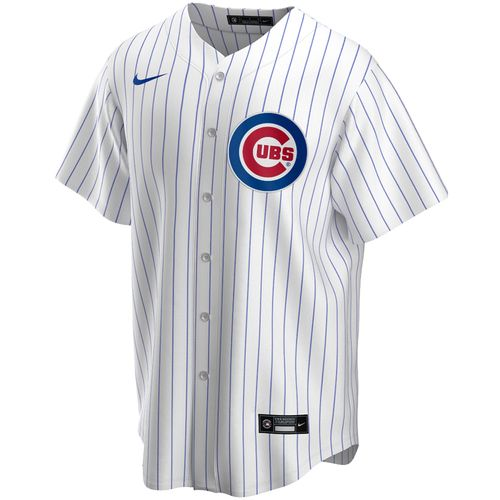 Men's Nike Chicago Cubs Home Replica Jersey (White)
