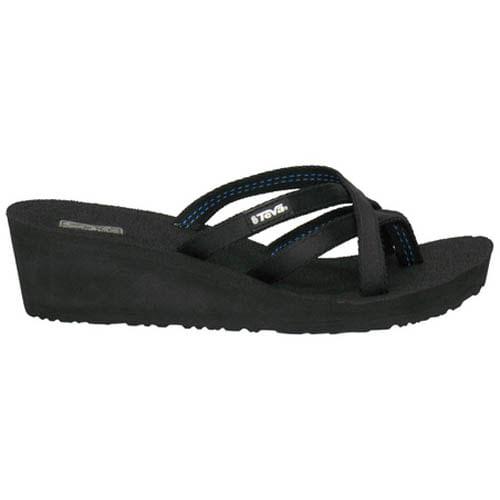 Women's Teva Mush Mandalyn Wedge Ola 2 Sandal (Black)