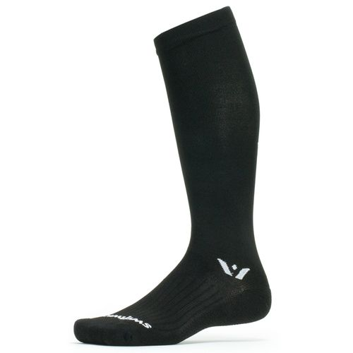 "Swiftwick Aspire 12"" Compression Sock (Black)"