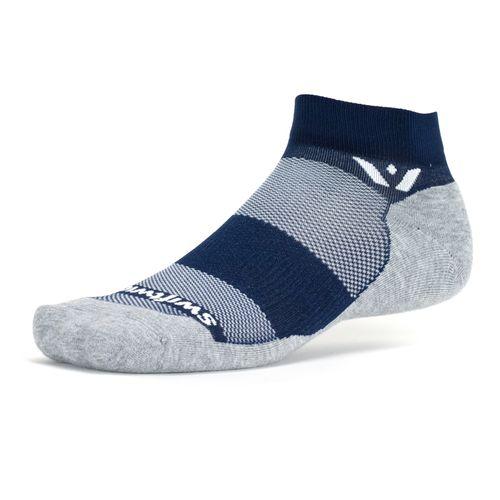 Swiftwick Maxus One Maximum Cushion Ankle Sock (Navy)