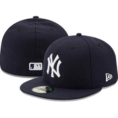 New Era New York Yankees On-Field 5950 2017 Fitted Hat (Navy)