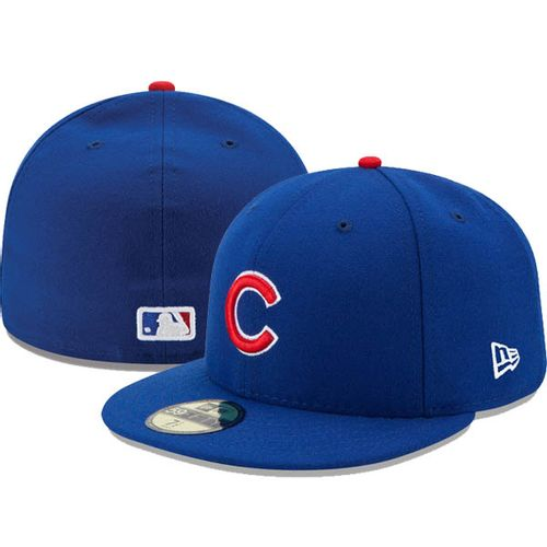 New Era Chicago Cubs On-Field 5950 2017 Fitted Hat (Royal)