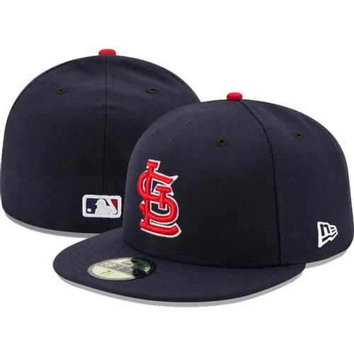 New Era St. Louis Cardinals On-Field 5950 2017 Fitted Hat (Navy)