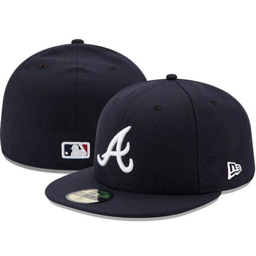 New Era Atlanta Braves On-Field 5950 2017 Fitted Hat (Navy)