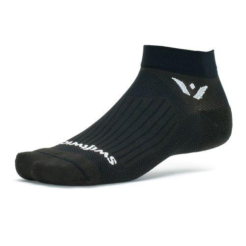 Swiftwick Aspire One Minimum Cushion Ankle Sock (Black)