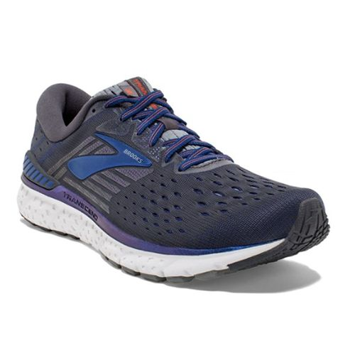 Men's Brooks Transcend 6 (Ebony/Blue)