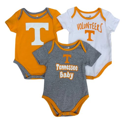 Infant Tennessee Volunteers Kick and Scream Onesie (Multi)