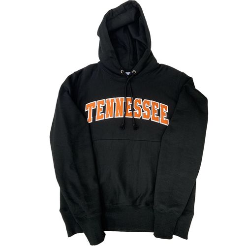 Men's Champion Tennessee Volunteers Reverse Weave Hooded Fleece (Black)