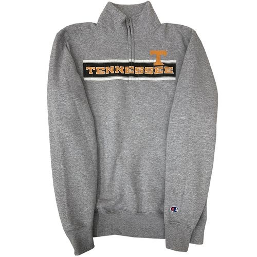 Men's Champion Tennessee Volunteers 1/4 Zip Up (Heather)