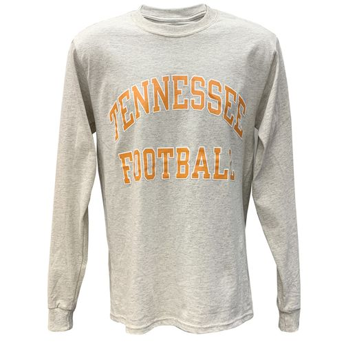 Men's Champion Tennessee Volunteers Football Long Sleeve Shirt (Heather)