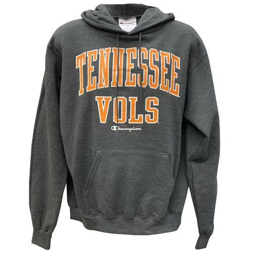Men's Champion Tennessee Volunteers Arch Hooded Fleece (Granite)