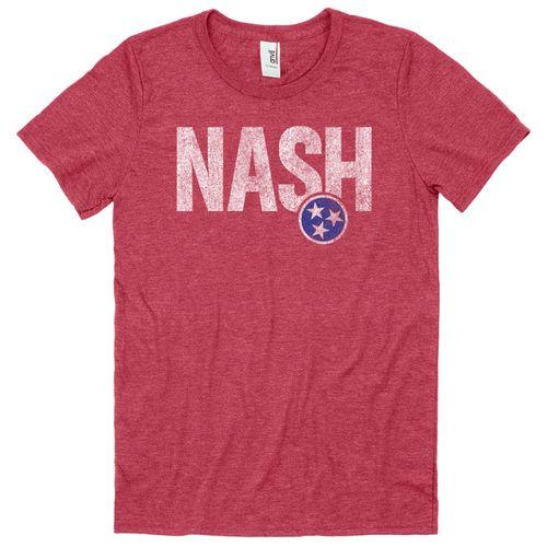 Men's Nash Tri-Effect T-Shirt (Red)