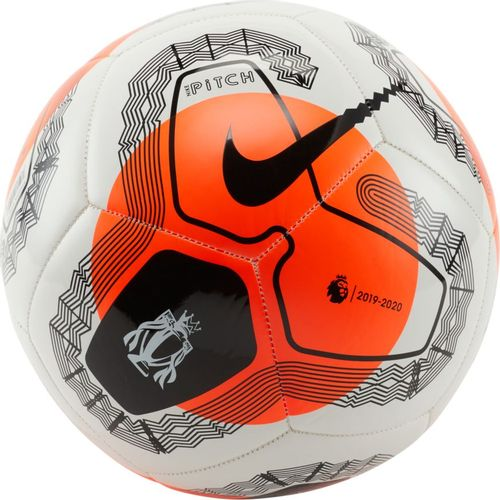 Nike Premier League Pitch Soccer Ball (White/Crimson)