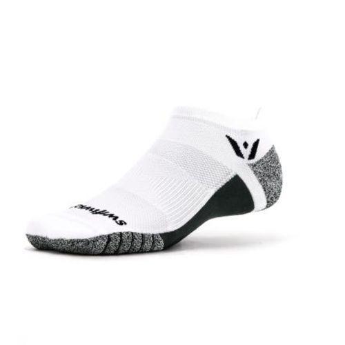 Swiftwick Flite XT No Show Sock (White)