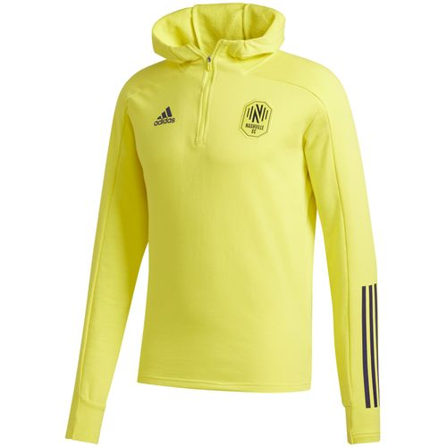 Men's Adidas Nashville Soccer Club Travel Jacket (Yellow)