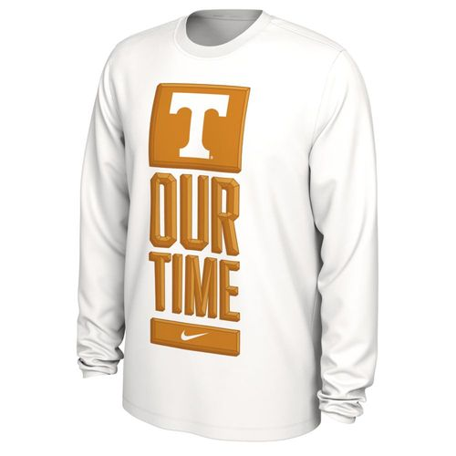 Men's Nike Tennessee Volunteers 2020 Bench Long Sleeve Shirt (White)