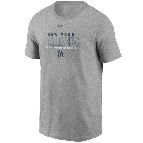 Men's Nike New York Yankees Dri-FIT Color Bar T-Shirt (Dark Heather)