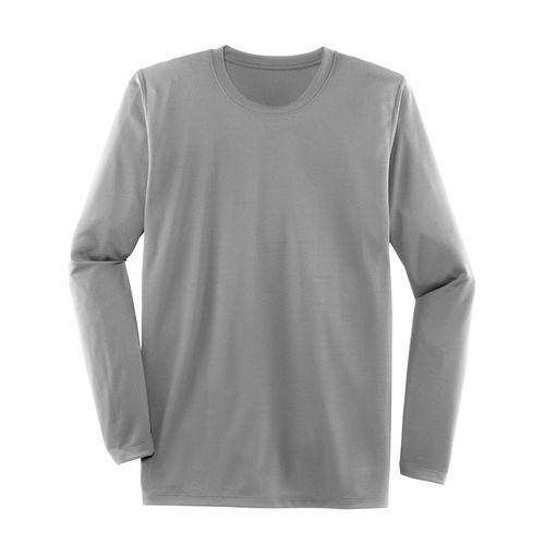 Men's Brooks Podium Long Sleeve Shirt (Light Grey)