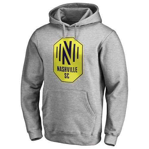 Men's Fanatics Nashville Soccer Club Primary Logo Hooded Fleece (Steel)