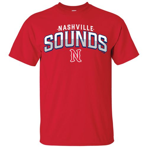 Men's Nashville Sounds Handle T-Shirt (Red)